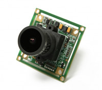 SCRATCH/DENT - QUANUM 700TVL SONY 1/3 Camera 2.1mm Lens (NTSC)