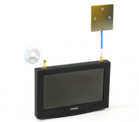 SCRATCH/DENT - 7 Inch 800 x 480 40CH FPV Monitor with In-Built Receiver Lieber