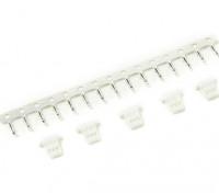 3-Pin Stecker und Stift Crimp