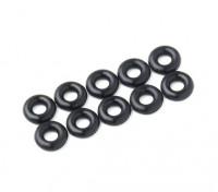 2 in 1 O-Ring-Kit (schwarz) -10pcs / bag