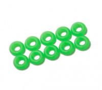2 in 1 O-Ring-Kit (Neongrün) -10pcs / bag
