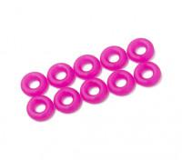 2 in 1 O-Ring-Kit (neon purple) -10pcs / bag