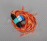 PowerBox Rumpfs / Flü Verbindung Draht-Set für 2 Servos 0,25 Draht 40 / 120cm