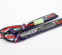 Turnigy Nano-Tech-1400mAh 2S 15 ~ 25C Lipo AIRSOFT-Pack