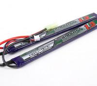 Turnigy Nano-Tech-1300mAh 2S 25 ~ 50C Lipo AIRSOFT-Pack
