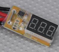 In-Line-Spannung und Wattmeters