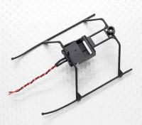 FP100 Hubschrauber-Landung Skid und Batteriemontage