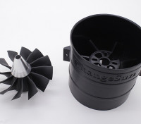 12 Blade-Hochleistungs-90mm EDF Impeller