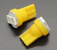 LED-Mais-Licht-12V 0.4W (2 LED) - Gelb (2 Stück)