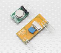 Superheterodyne 3310 Wireless Receiver-Modul und 315RF Wireless-Modul