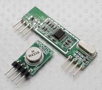 433MHz Superheterodyne 3400 RF Sender und Empfänger