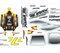 SCRATCH/DENT - Pre-Painted Body 1/16 Turnigy Nitro Racing Buggy E1135 (UK Warehouse)