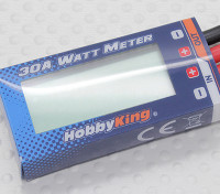HobbyKing® Compact 30A Watt Meter und Power Analyzer