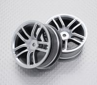 Maßstab 1:10 Hohe Qualität Touring / Drift Felgen RC Car 12mm Hex (2pc) CR-GTS