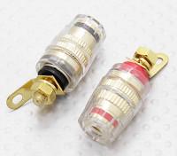 Weiblich 4mm Elektrische Verbindungsklemmen 12-24V DC 50Amp