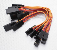 10CM Servo Lead-Extention (JR) 26AWG (10pcs / bag)