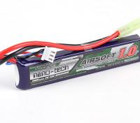 Turnigy Nano-Tech-1000mAh 2S 20 ~ 40C Lipo AIRSOFT-Pack