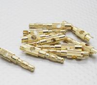 4mm Gold überzogenes Bananenstecker (10 Stück)