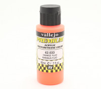 Vallejo Premium-Farbe Acrylfarbe - Orange Fluo (60 ml)