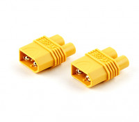 XT60 Stecker auf EC3-Adapter-Stecker (2 Stück)