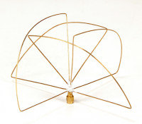900Mhz zirkular polarisierte Antenne Empfänger (RP-SMA) (LHCP) (Kurz-)