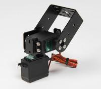 Heavy Duty Pan- und Tilt-Basis-Kit mit 160deg Servos Robotic Gliedmaßen oder Antenne Tracking (Long Arm)