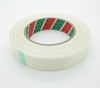 High Strength Chequered Fibre-Tape. 24.5mm x 50m
