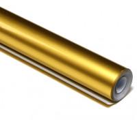 Bedecken Film Metallic Gold (5mtr) 028-4