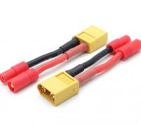 XT60 3,5-mm-Stecker Batterie-Adapter (kompatibel mit Walkera QR X350) (2ST / bag) zu hxt