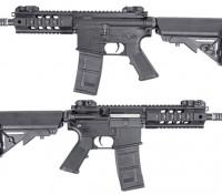 King Arms 516 PDW AEG (Schwarz, Short Ver.)