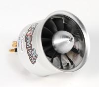 Dr. Mad Thrust 70mm 11-Blatt-Legierung EDF 1900kv Motor - 1900watt (6S) (Zähler dreht)