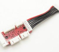 Adapterplatine für 2S-6S Lipo Akkus mit JST-XH Gleichgewicht Stecker