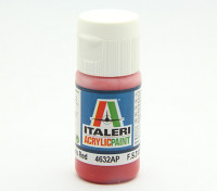 Italeri Acrylfarbe - Flach indischrot