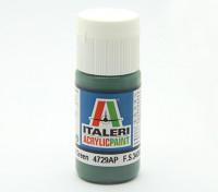 Italeri Acrylfarbe - Wohnung Euro 1 Dark Green