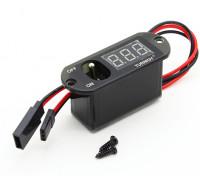 Turnigy Heavy Duty-Empfänger Schalter / LED Spannung Dispay