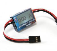 Hobbyking ™ Compact 20A Watt Meter und Servo Power Analyzer