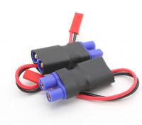 EC3 JST Male in-line-Netzadapter