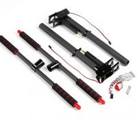 Multi-Rotor Metall und Carbon-Einziehfahrwerk mit Steuergerät für 22mm Befestigungsrohre