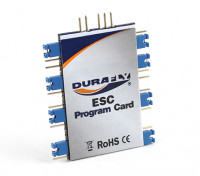 Durafly ESC Programmierkarte