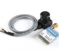 Aomway Mini 200mW VTX und FPV Tuned 600TVL Kamera Combo (PAL)