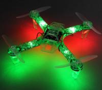 Hobbyking FPV250 V4 Grüne Geist Ausgabe LED-Nacht Flyer FPV Quadrocopter (Grün) (Kit)