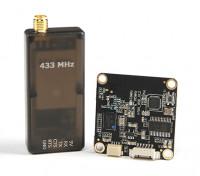 Micro HKPilot Telemetrie-Funkmodul mit On Screen Display (OSD) Einheit - 433 MHz.