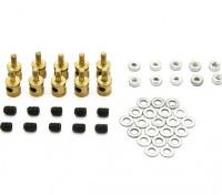Messing Linkage-Stopper für 2mm Pushrods (10 Stück)