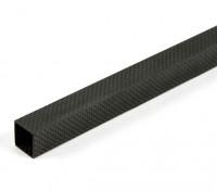 Kohlenstoff-Faser-Vierkantrohre 20 x 20 x 800 mm