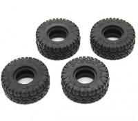 Big Block Reifen (4 Stück) - OH35P01 1/35 Rock Crawler Kit