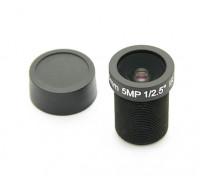 """3.6mm IR / 5mp Brett-Objektiv F2.0 1 / 2.5 """"130 °"""