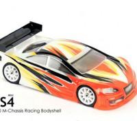 BLITZ Mini RS4 Rennen Körper (210mm) (0,8 mm)