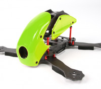 Hobbyking ™ Robocat 270mm Echte Carbon-Racer Quad (Grün)