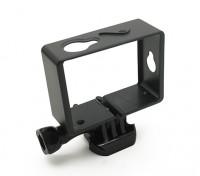 Kunststoff-Montagerahmen für Xiaoyi-Action-Kamera w / Universal Quick-Release Berg