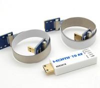 RCD 3016 HDMI an den AV-Anschluss-Konverter